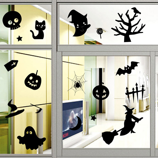 Halloween Series Removable Waterproof Room Vinyl Wall Sticker