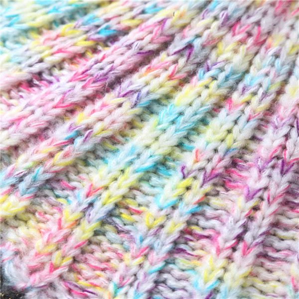 Warm and Soft Knitted Sofa Kids Mermaid Tail Blanket